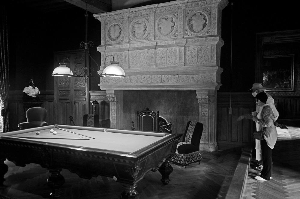 Billiards at the castle