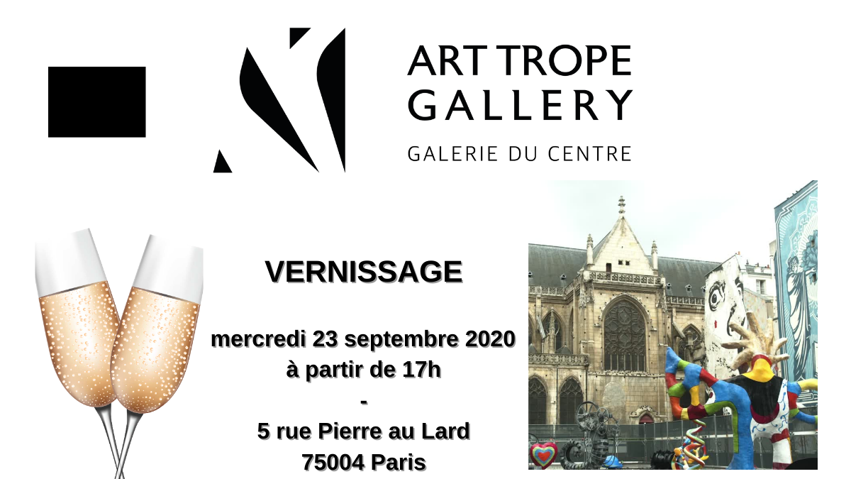 Art Trope Gallery Opening on Wednesday 23rd, September 2020