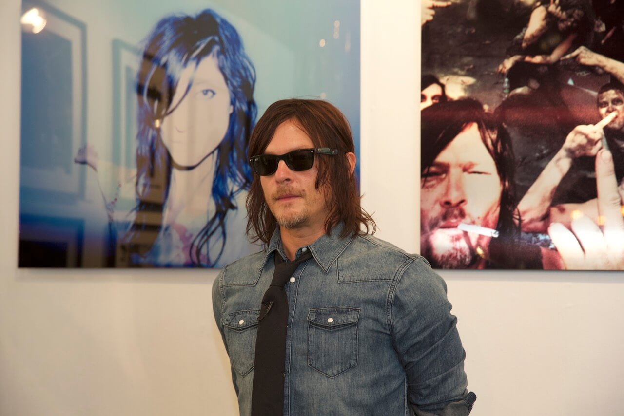 Norman Reedus in partnership with Big Bald Gallery - Art Fair - YIA Photography – Paris - France